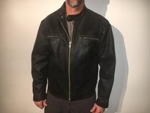 Leather Biker Jacket- custom made XXL in Stuttgart, GE