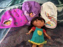 Dora lot (2 hats, 1 beanie and doll) in Travis AFB, California