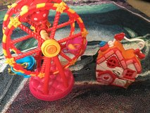 Lalaloopsy ferris wheel and little house in Travis AFB, California