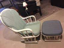Glider rocker & ottoman in Batavia, Illinois