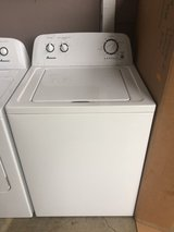 Amana washer and dryer set in Camp Pendleton, California