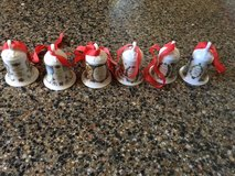 Hutschenreuther China Christmas Bells in Wilmington, North Carolina