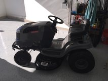 Black and grey craftsman riding lawn mower in bookoo, US