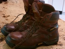 STEEL TOE WORK BOOTS (2 PAIRS) GREAT FOR WORK OR HUNTING, sz 12-13d in Rosenberg, Texas