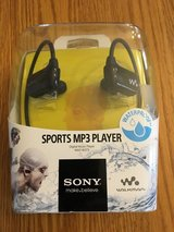 Sony sports MP3 player in Sugar Grove, Illinois