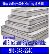New Mattress Sets,still in plastic in Wilmington, North Carolina