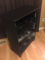 Black Painted Bookcase in Shorewood, Illinois