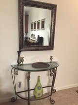 Accent table and mirror in San Diego, California