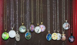 Cabochon Necklaces in Yucca Valley, California
