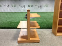 Wood Display Shelves in Naperville, Illinois