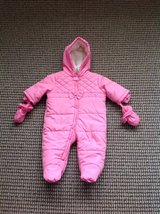 New with Tag the Children s Place Baby Girl Snowsuit Bunting, size 3-6 months in Elgin, Illinois
