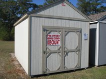 10x16 Lofted Utility Storage Building Shed DISCOUNTED!! in Valdosta, Georgia