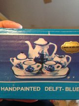 Delft-Blue miniature tea set in Byron, Georgia