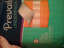 prevail underpads..3 cases of 12 boxes ea. in Yucca Valley, California