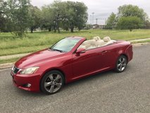 2010 Lexus IS 250 Convertible in Lackland AFB, Texas