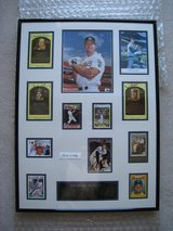 Framed 500 Home Run Club 13 Autograph Ensemble w/COA Williams, Mantle, Aaron +++ in Glendale Heights, Illinois