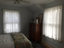 4 panels of Sheer Curtains & 2 Rods in Bartlett, Illinois