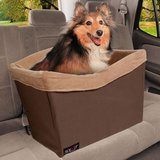 SOLVIT Standard Pet Safety Seat, Brown in Glendale Heights, Illinois