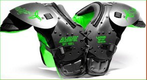 """All Star Youth Catalyst Football Pads SPT 1000L w/ Hydromax 32""""-34"""" Large 100-130 pounds in Kingwood, Texas"""