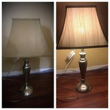 "* Set of 26"" satin nickel lamps in Morris, Illinois"