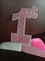 First Birthday Girl Table Decor in Lockport, Illinois