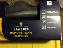New Men's Memory Foam Slippers in Beaufort, South Carolina