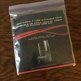 PlayStation hdmi cable + usb 2.0 cable pack in Kingwood, Texas