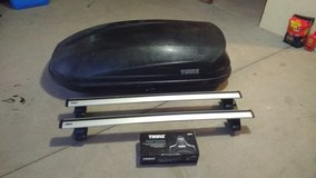 Thule Roof Rack System and Box in Alamogordo, New Mexico