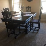 Antique Table w/chairs (French Brittany) in Moody AFB, Georgia