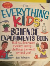 Everything Kids Science Experiments Book in Bolingbrook, Illinois