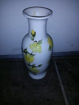 Yellow flower vase in Vacaville, California