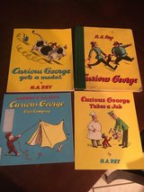 4 Curious George Books in Chicago, Illinois