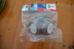 Dust mask new Mouldex 5000 still sealed in packet in Lakenheath, UK