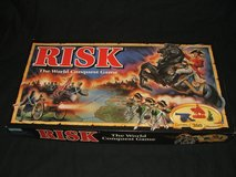 Risk ~ Classic War World Conquest Board Game Parker Brothers in Batavia, Illinois