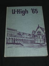 University of Chicago High School Year Book 1965 in Wheaton, Illinois