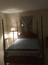 Old four poster bed in Bolingbrook, Illinois
