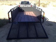 6 x 12 trailer in Fort Irwin, California