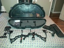Bowtech Assissan Black Ops Compound Bow w/ Accessories in Fort Leonard Wood, Missouri