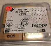 Stampin Up Polka Dots & Paisley Stamp Set in Oswego, Illinois
