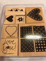 Stampin Up Loving Hearts Stamp Set in Aurora, Illinois