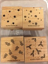 Stampin Up Background Basics Stamp Set in Oswego, Illinois