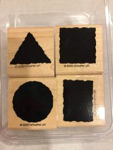 Stampin UP Shapes Stamp Set of 4 in Aurora, Illinois