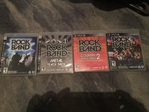 Rock Band Games & Drums/Guitar/Microphone in Ramstein, Germany