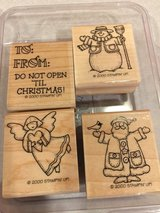 Stampin UP Christmas/Winter Stamp set of 4 in Lockport, Illinois