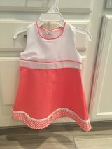 18 months Pink sleeveless dress and petticoat NWT! in Aurora, Illinois