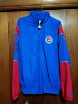 Brand New Men's Chicago Cubs Starter Jacket, Sz L in Peoria, Illinois