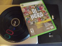 DJ Hero game and turntable for XBox in New Lenox, Illinois