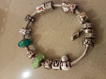 Pandora bracelet with 16 charms in Elgin, Illinois