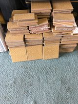 Used gold 6x6 tiles 200+ in Travis AFB, California