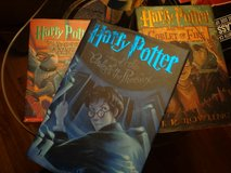3 Harry Potter Books in Glendale Heights, Illinois